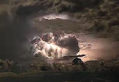 Heftiges Gewitter in Australien - wahnsinnige Blitze