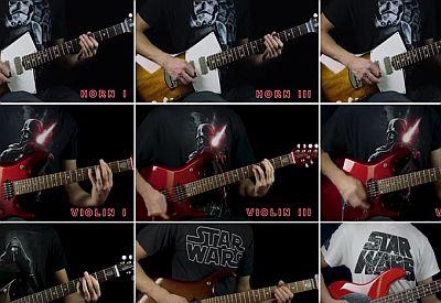 Star Wars Imperial March - Gitarrenorchester