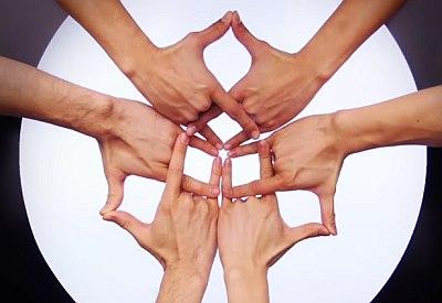 Finger Kaleidoskop