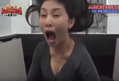 Japan TV: Brutaler Aufzug-Prank