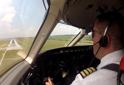 Landungen aus der Sicht von Piloten