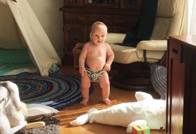 Baby tanzt zu MGMT