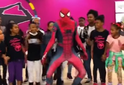Ghetto Spiderman lässt es krachen