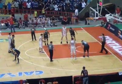 Cooles Finish beim Basketball