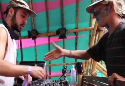 Shakehands mit dem DJ führt zur maximalen Eskalation