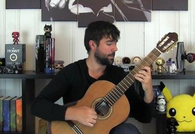 """""""Game of Thrones""""-Titelmelodie auf einer Klassik Gitarre"""