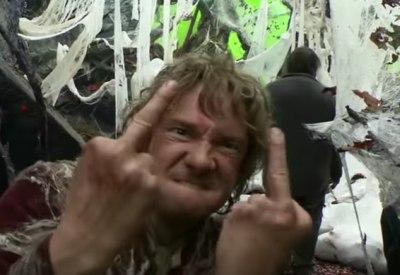 Internetklassiker: Bilbo und die Mittelfinger