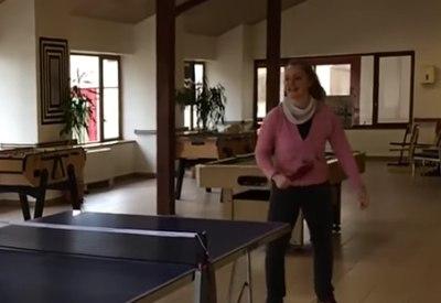 Neulich beim Tischtennis....