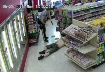 """Canadian Robbery"" unterlegt mit Musik"