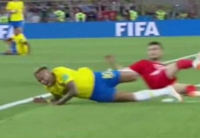 Neymar rollt und rollt und rollt...