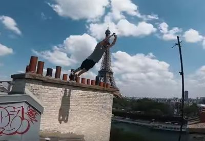 Paris Rooftop Parkour POV