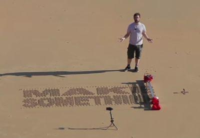 Sand Drawing Robot