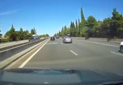 Neulich auf der Autobahn...