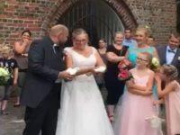 Bei der Hochzeit schön die Tauben fliegen lassen