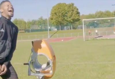 Neulich beim Fußballtraining
