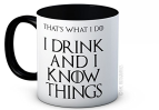 I Drink and I Know Things (That's What I Do)