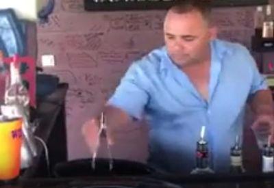 "Wenn der Barmann mal kurz ""eskaliert"""