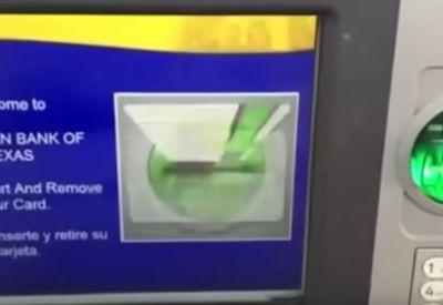 Neulich am Bankautomat