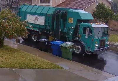 Neulich bei der Müllabfuhr