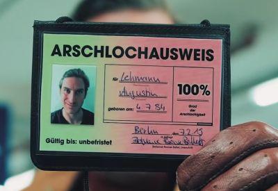Der Arschlochausweis