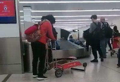 Probleme mit dem Gepäckwagen