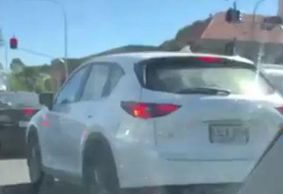 Blinder Passagier im Auto