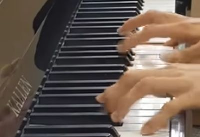 How not to play the piano