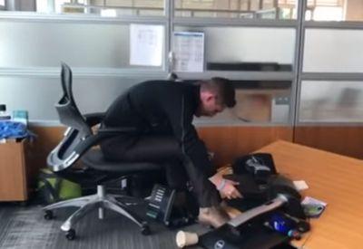 Wenn der Schreibtisch keinen Bock auf Arbeit hat