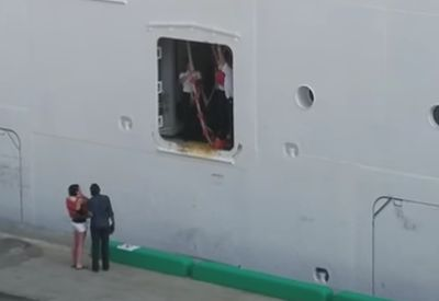 Wenn du dein Kreuzfahrtschiff verpasst...