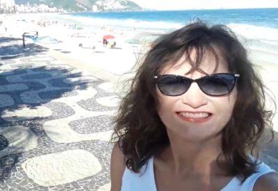 Tolles Selfie im Urlaub machen