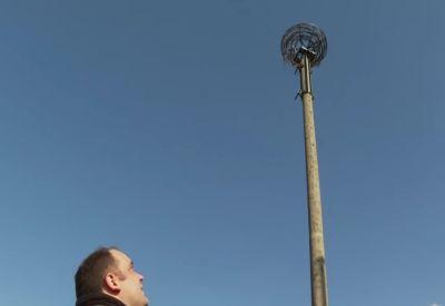 Realer Irrsinn: Lautsprecher gegen Adler