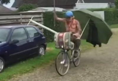 Fahrradfahren in Holland - Compilation