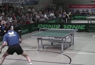 Einfach mal die Tischtennisplatte rocken