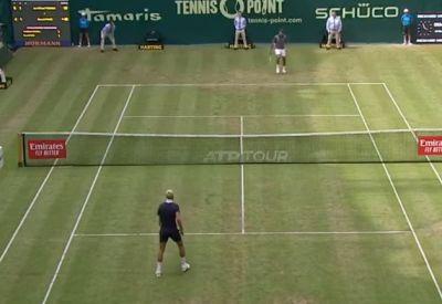 Neulich beim Tennisturnier in Halle - 2