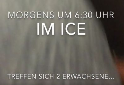 Morgens um 06:30 Uhr im ICE