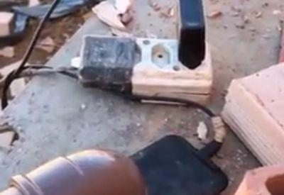 Mit dem Handy die Baustelle ordentlich beschallen
