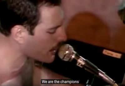 Queen - We are the Champions - Vocals Only