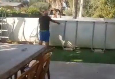 Wie man einen Pool auf keinen Fall abbaut