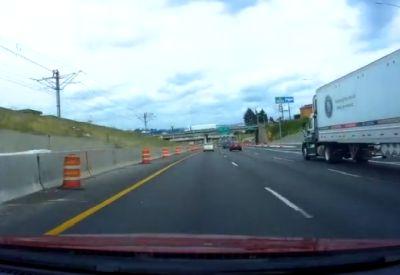 Neulich auf der Autobahn