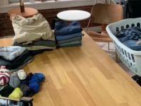 Stop Motion mit Wäschekorb