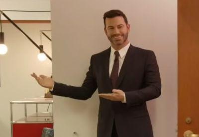 Jimmy Kimmel und seine Wachsfigur