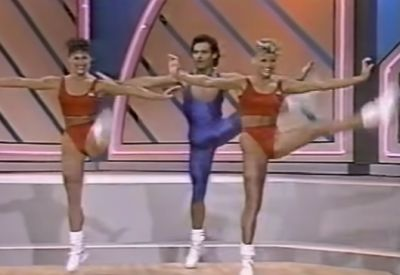 1988 National Aerobic Championship Opening