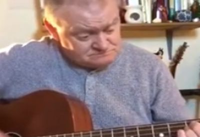 Sauberes Gitarrensolo hinlegen