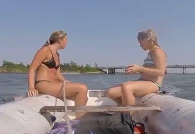 Kurz mal die Kontrolle über das Boot verlieren