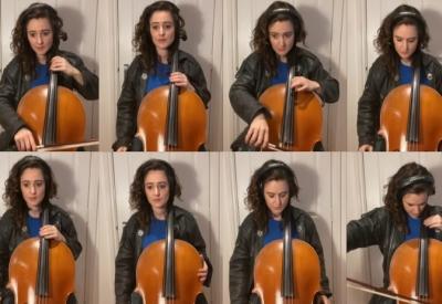 Knight Rider Theme gespielt auf 8 Cellos