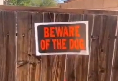 Großer böser Wachhund!