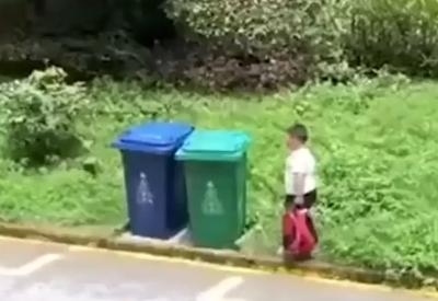 Kurz mal den Müll entsorgen
