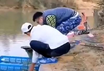 Wenn Vollprofis angeln