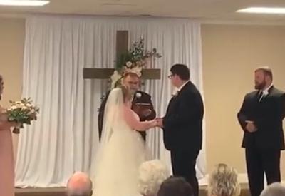 Die schönste Szene im Hochzeitsvideo