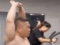 Neulich im Fitnessstudio